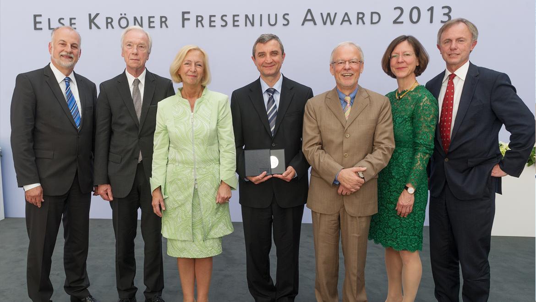 Else Kröner-Fresenius Preis für medizinische Forschung 2013